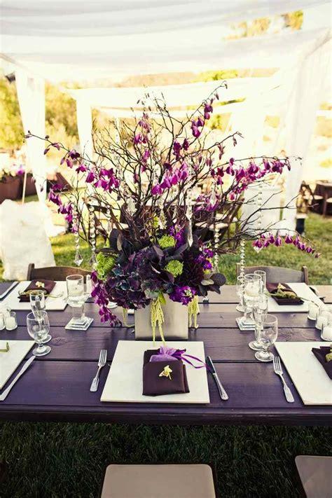 idee deco mariage exterieur d 233 coration de table pour mariage en fonction de sa forme