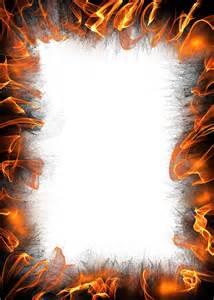 Fire Flames Border Clip Art Free