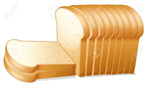 Bread Clip Toast Clipart Slice Bread Pencil And In Color Toast