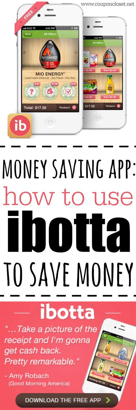 Closet Discount Code by How To Use Ibotta To Save Money Coupon Closet