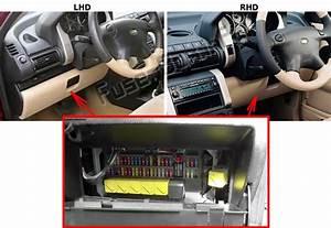 Fuse Box Diagram Land Rover Freelander  L314  1997