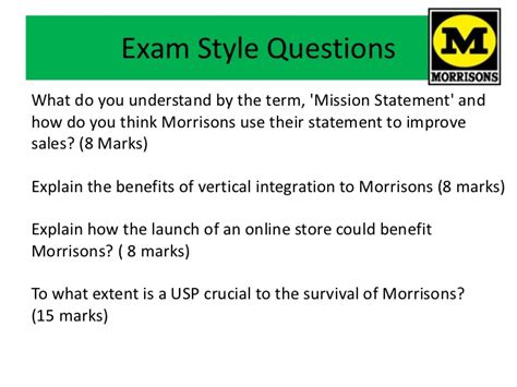 unit  exam style questions