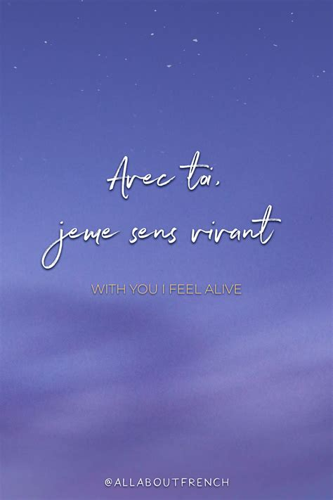 Learn to speak French with us Free Beautiful French Quotes ...