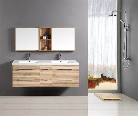 floating vanity double sink good small space solutions