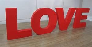 Letras Decorativas Love Em Mdf - Pronta Entrega! Promoção
