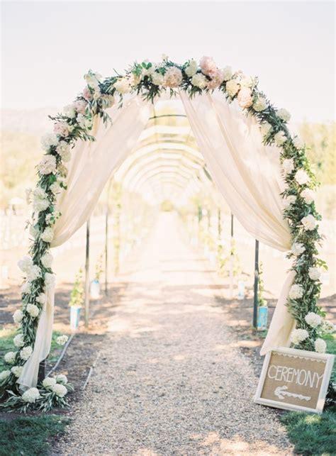 25 Best Ideas About Wedding Arches On Pinterest