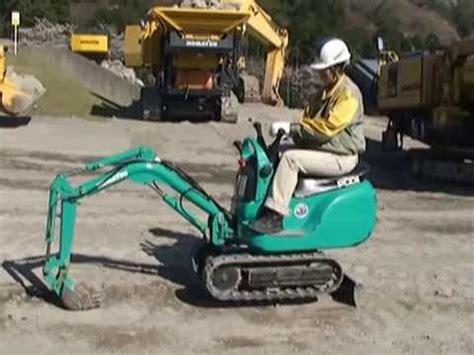 komatsu micro shovel pc youtube