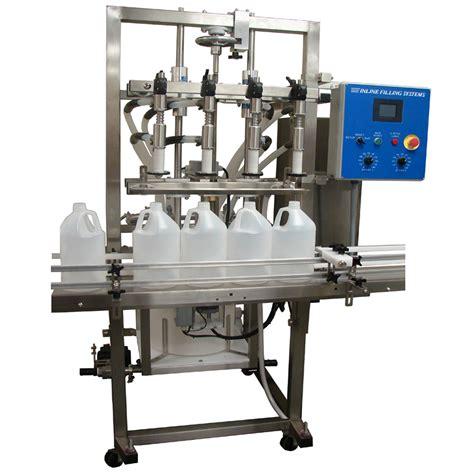 semi automatic overflow filling machine