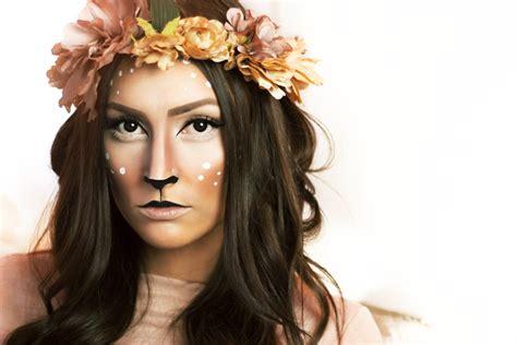 karneval kostüm reh fabelwesen und waldtieren thesimplemess