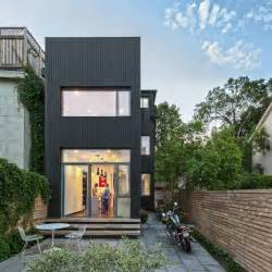 homes for narrow lots narrow dwelling in toronto converted into bright family refuge the contrast house freshome com