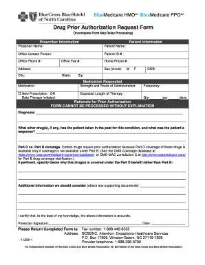 fillable  drug prior authorization request form