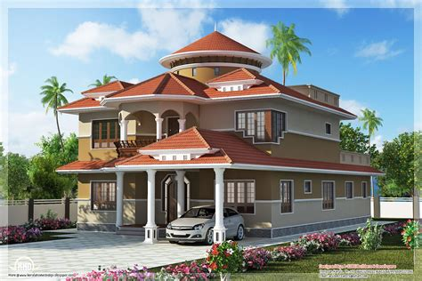 Beautiful Dream Home Design In 2800 Sqfeet  Kerala Home
