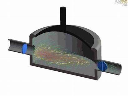 Pump Diaphragm Vacuum Pumps Principle Animation Working