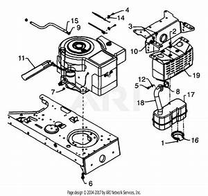 Mtd 13af660g352  1999  Parts Diagram For Engine