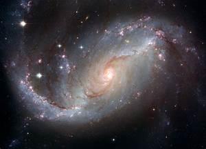 Stellar Nursery in the arms of NGC 1672 | ESA/Hubble