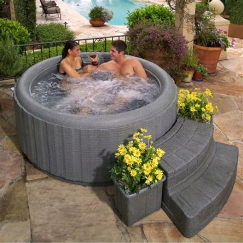Decking Ideas For Lazy Spa