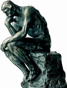 """Auguste Rodin """"The Thinker"""" Sculpture for Sale"""
