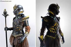 This 3D Printed Internally Lit Fantasy Armor Is Every ...