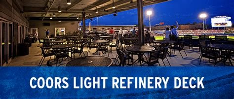 Coors Light Refinery Deck | Tulsa Drillers Groups ...