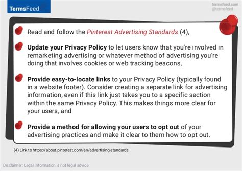 privacy policy  pinterest advertising