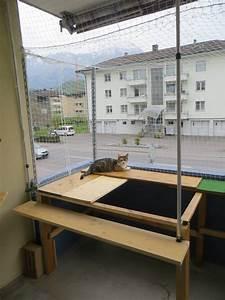 balkon katzensicher machen ohne bohren katzensicherer With balkon ideen ohne dach