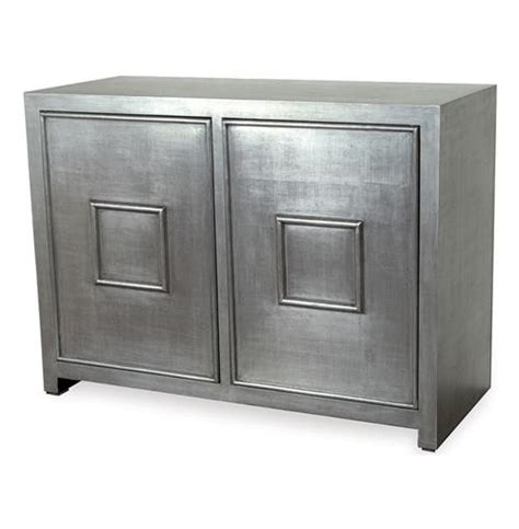 glass cabinets for kitchen park avenue regency style silver leaf cabinet 3768