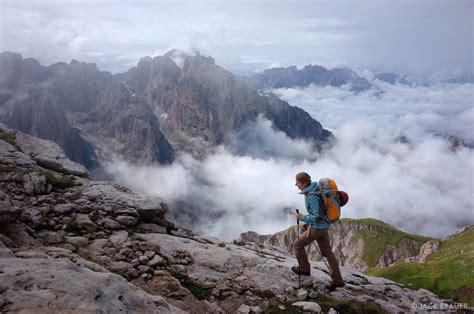 Hiking in the Rosengarten | Dolomites, Italy | Mountain ...