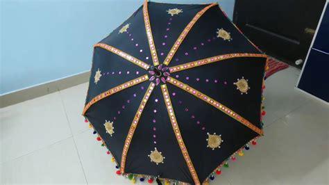 diy umbrella decoration  indian wedding umbrella