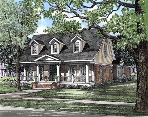 County House Plans by Traditional Country House Plan 59112nd Architectural