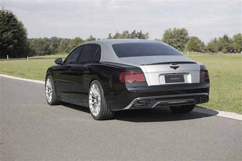 mansory tweaked flying spur  surprisingly tamed
