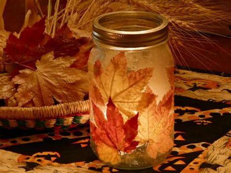 fall leaf candle jar fun family crafts