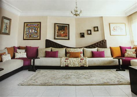 decoration salon marocain mars