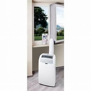 Climatiseur D Air Mobile : kit d vacuation porte et fen tre pour climatiseur mobile ~ Edinachiropracticcenter.com Idées de Décoration