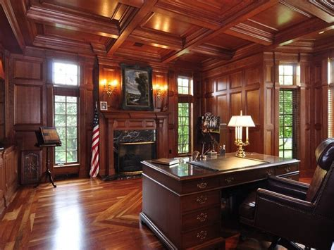traditional executive office 23 traditional home office designs to work in style Traditional Executive Office