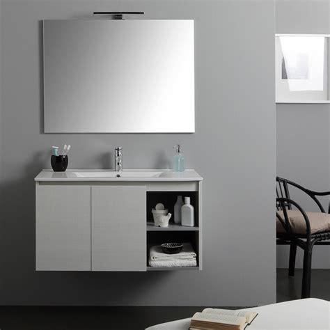 Mobili Per Bagno Vendita by Mobile Bagno Con Specchio Illuminazione E Lavabo Kv Store