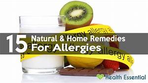 15 Natural Home Remedies to Get Rid of Allergies Fast  Allergy Rid