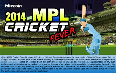 mpl cricket fever 2014 apk for windows phone android and apps
