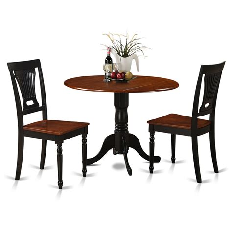 3 Piece Small Kitchen Table And Chairs Setround Table And