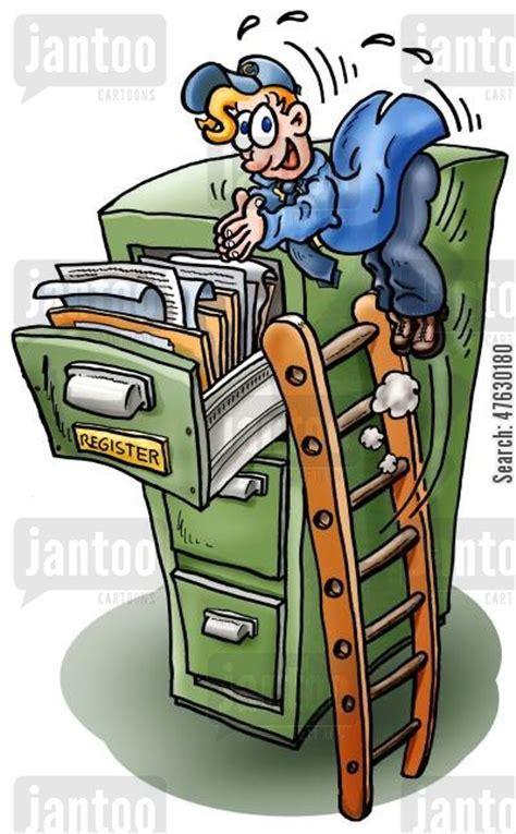 filing cabinet cartoons   Humor from Jantoo Cartoons