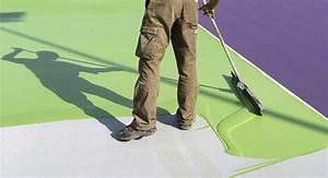 Peinture Pour Sol Exterieur : prix des peintures pour sol ext rieur et garage ~ Edinachiropracticcenter.com Idées de Décoration