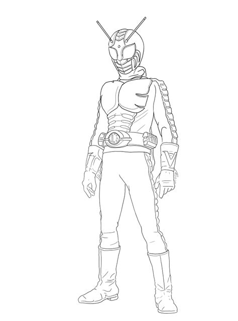 kamenrider  coloring pages