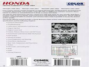 Clymer Honda Trx450 Foreman 1998