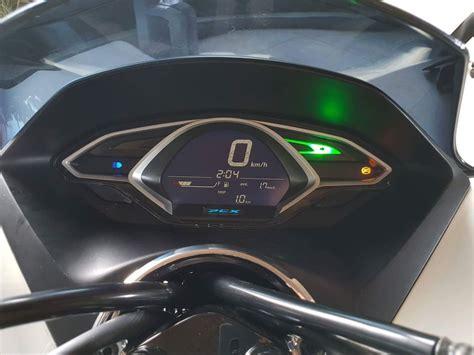 Pcx 2018 Speedometer by Foto Honda Pcx 2018 Speedometer Digital Bmspeed7