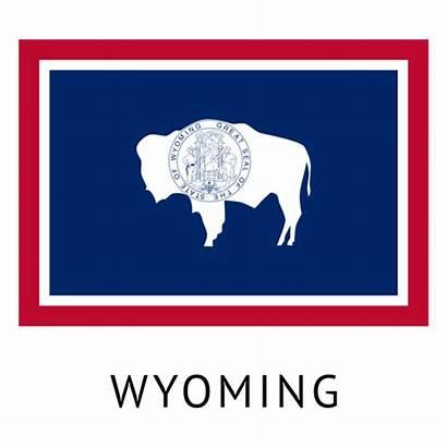 Wyoming Flag State Transparent Svg Shirt Vector