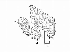 2007 Volkswagen Passat Wagon Engine Cooling Fan Shroud