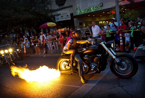 Bikers rumble at the R.O.T. Rally – Collective Vision