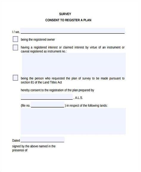 15278 survey consent form template 7 survey consent form sles free sle exle