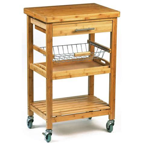 desserte de cuisine en bois a roulettes desserte a roulettes pour cuisine meuble desserte de cuisine sur en bambou avec range