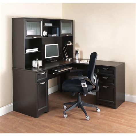 realspace magellan collection corner desk honey maple link