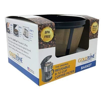 Great savings & free delivery / collection on many items. GOLDTONE Reusable 8-12 Cup Basket Coffee Filter fits ...